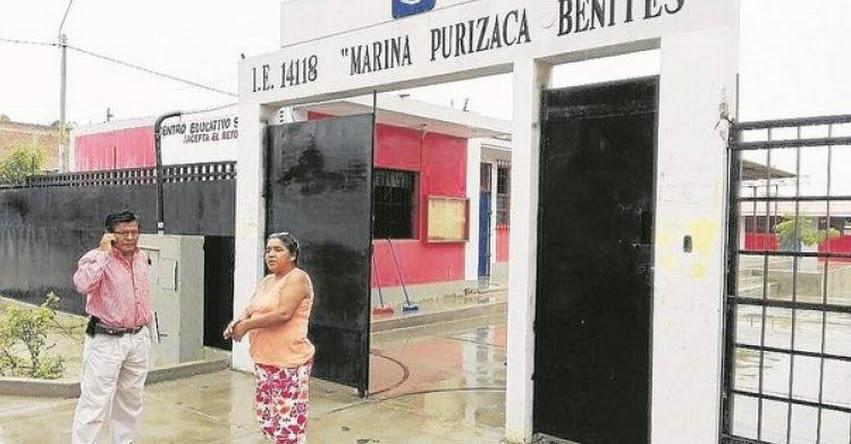 DRE Piura evalúa aplazar el inicio de clases por las lluvias