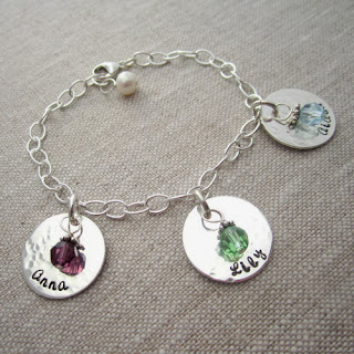 Http Www Babynamecharms Item Personalized Birthstone Mom S Bracelet 4798