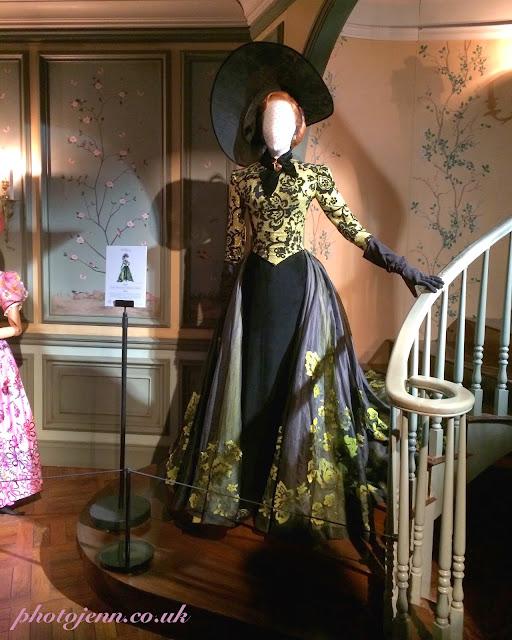 Cinderella-exhibition-london-movie-stepmother-costume