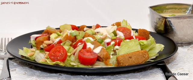 Salade Caesar.