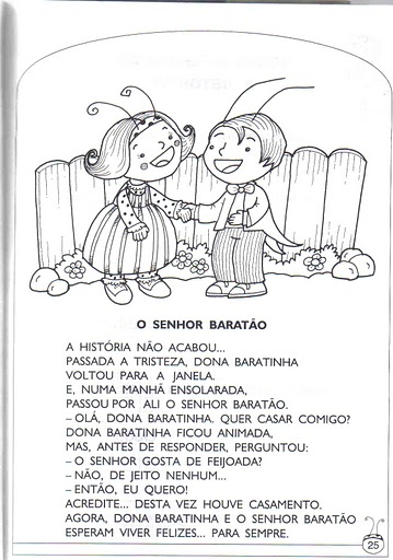 Muito Profª: Ivani Ferreira: A historia da dona baratinha para imprimir  NF34