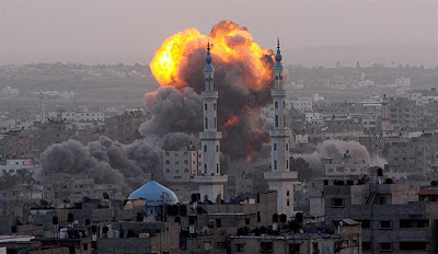 la proxima guerra ataque a gaza explosion misiles