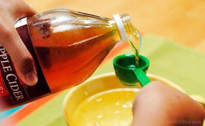 vinagre de manzana para cabello sano y fuerte
