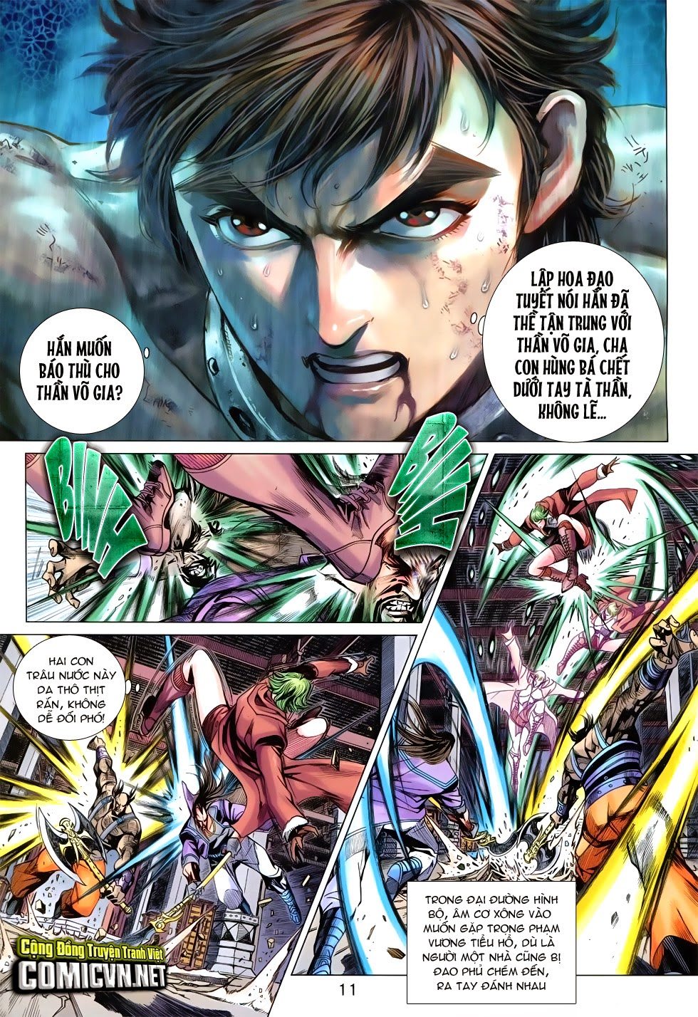 Tân Tác Long Hổ Môn Chap 744 page 11 - Truyentranhaz.net