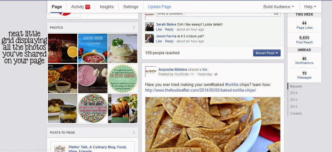Photos get prominently displayed on Facebook's new page view