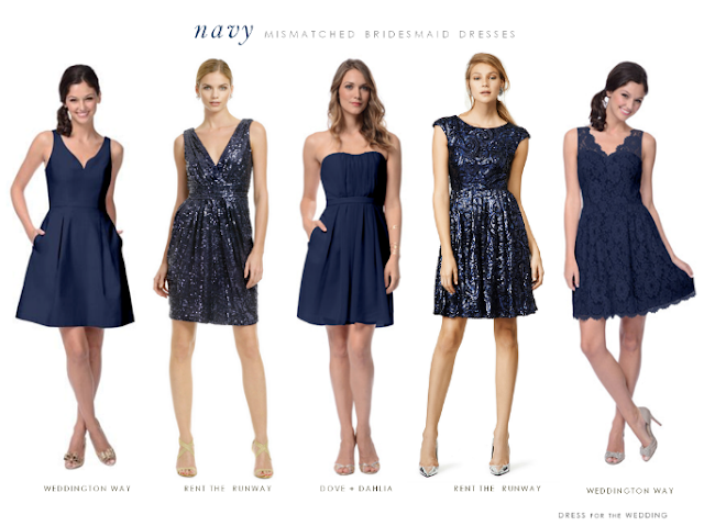 What To Wear With A Blue Dress To A Wedding