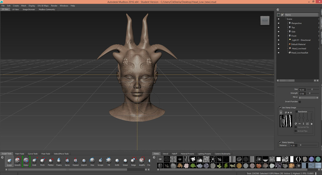 Autodesk Mudbox is Fun! - Animation : The New Perspective