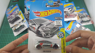 Hot Wheels Zamac Edition Ford Focus RS