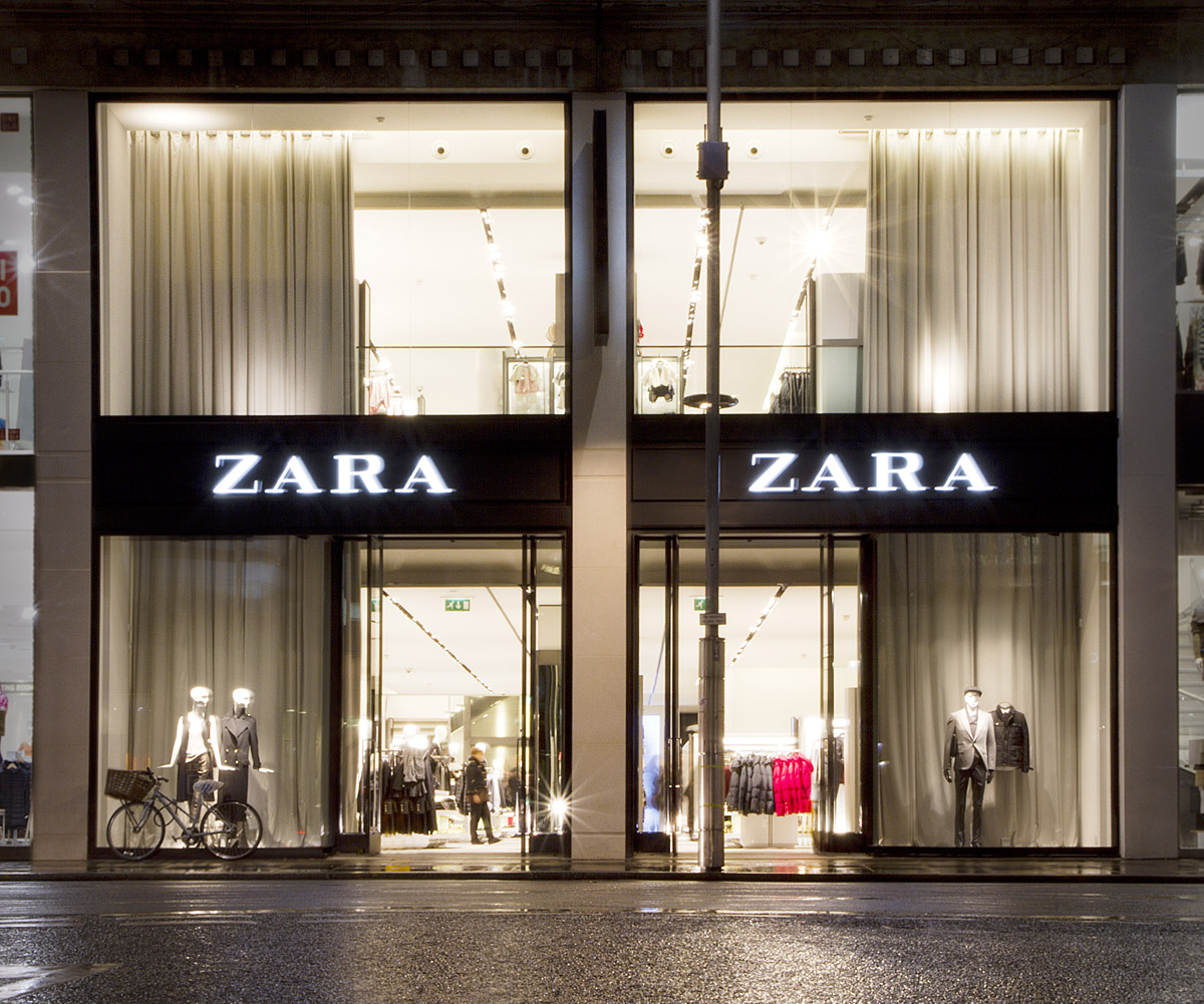 The Zara store on Kensington High Street is now open again after a 13 week  refit by Oracle Interiors. Although Zara traded from this location  previously 70bdc40f1b