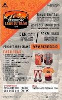 Eiger X Siksorogo Lawu Ultra 50 • 2018