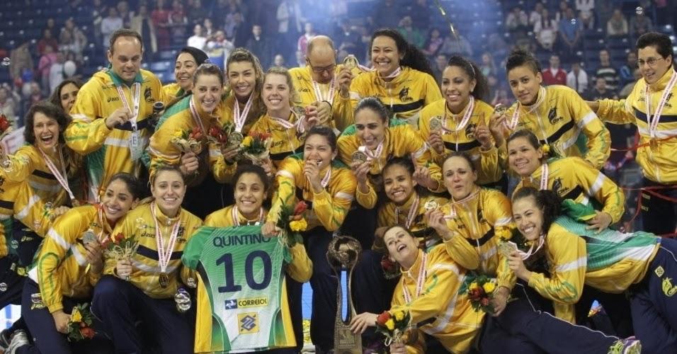 Brasil, con ONCE campeonas del Mundo a ODESUR   Mundo Handball