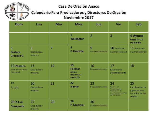 Calendario De Actividades Eventos: Actividades Y Eventos