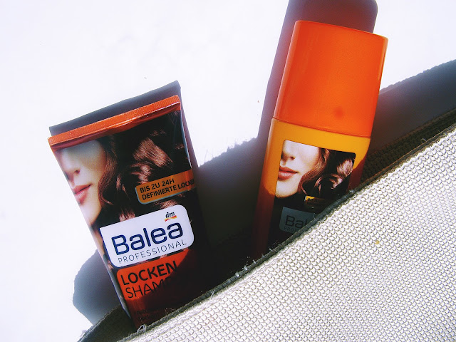 Balea Locken : Power Spray & szampon