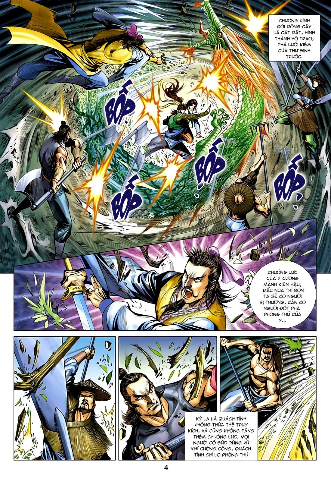 Anh Hùng Xạ Điêu anh hùng xạ đêu chap 75: hoàng thành cựu sự trang 4