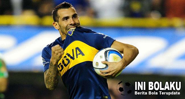 Berkostum Boca Juniors, Tevez Ingin Bisa Main Untuk Argentina Lagi