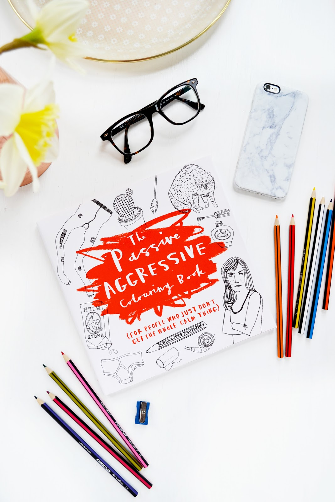 The Passive Aggressive Adult Colouring Book