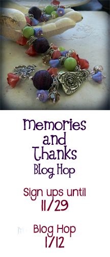 Memories & Thanks Blog Hop