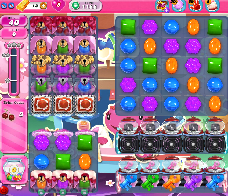 Candy Crush Saga 1188