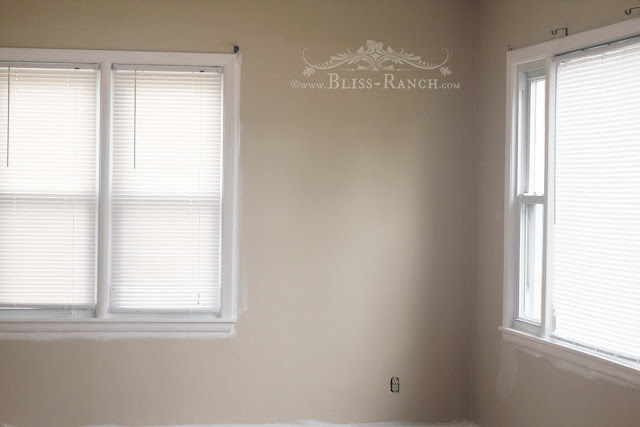 Painting Interior Rental Property Doors, Bliss-Ranch.com