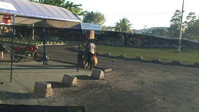Estación de autobuses de Bom Despacho. Itaparica. Brasil