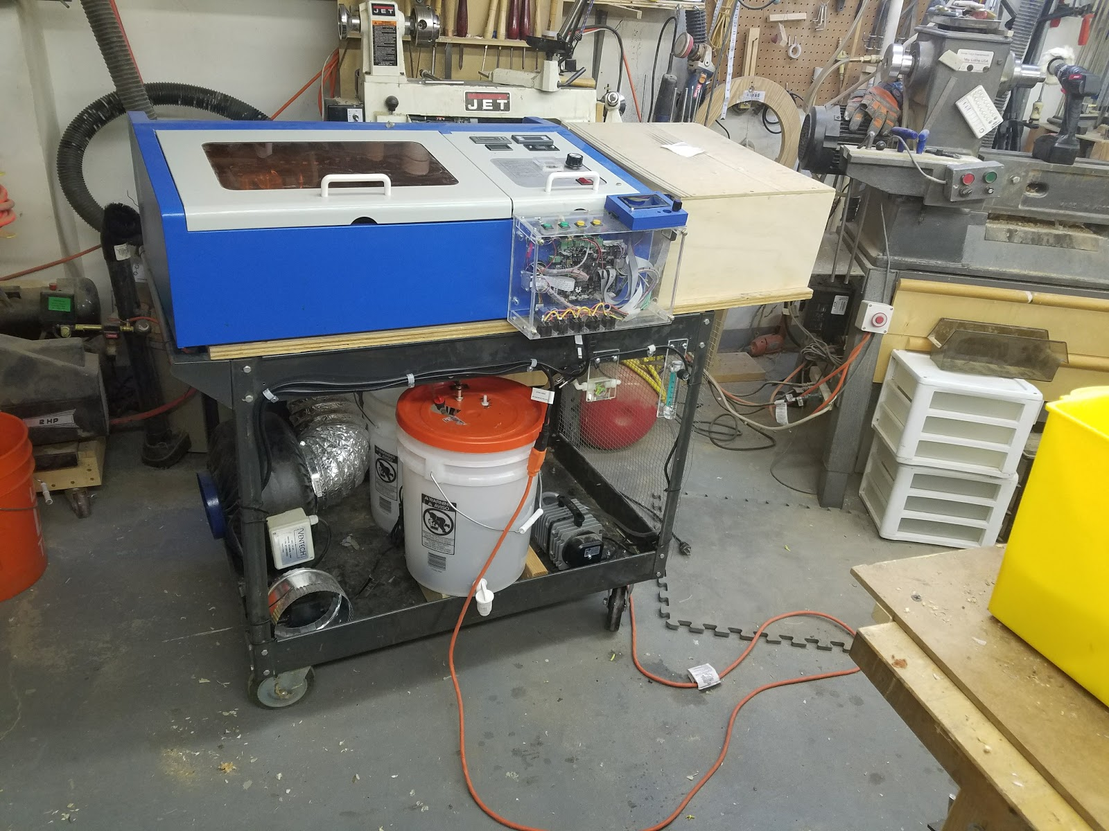 Don's Laser Cutter Things: Improved K40 Cooling Circuit