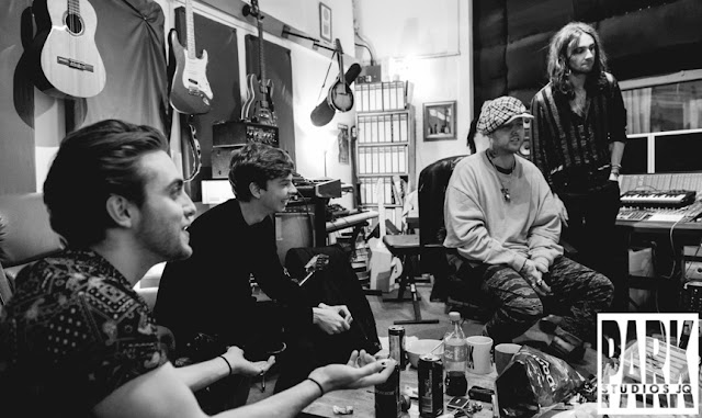 The Carnival Club EP | Birmingham Recording Studio | Park Studios JQ | control room