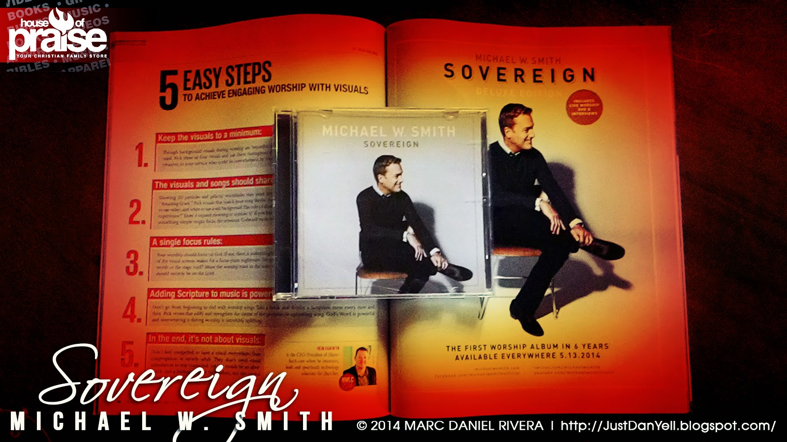 Album Review: Sovereign by Michael W  Smith | Servant's Quill