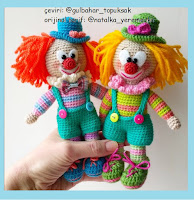 clown crochet pattern