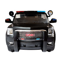 Junior W462 GMC Yukon Denali Police SUV Rechargeable-battery Operated Toy Car