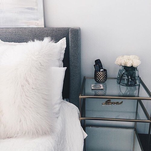 bedside table_Happy Weekend Images of Inspiration {Cool Chic Style Fashion}