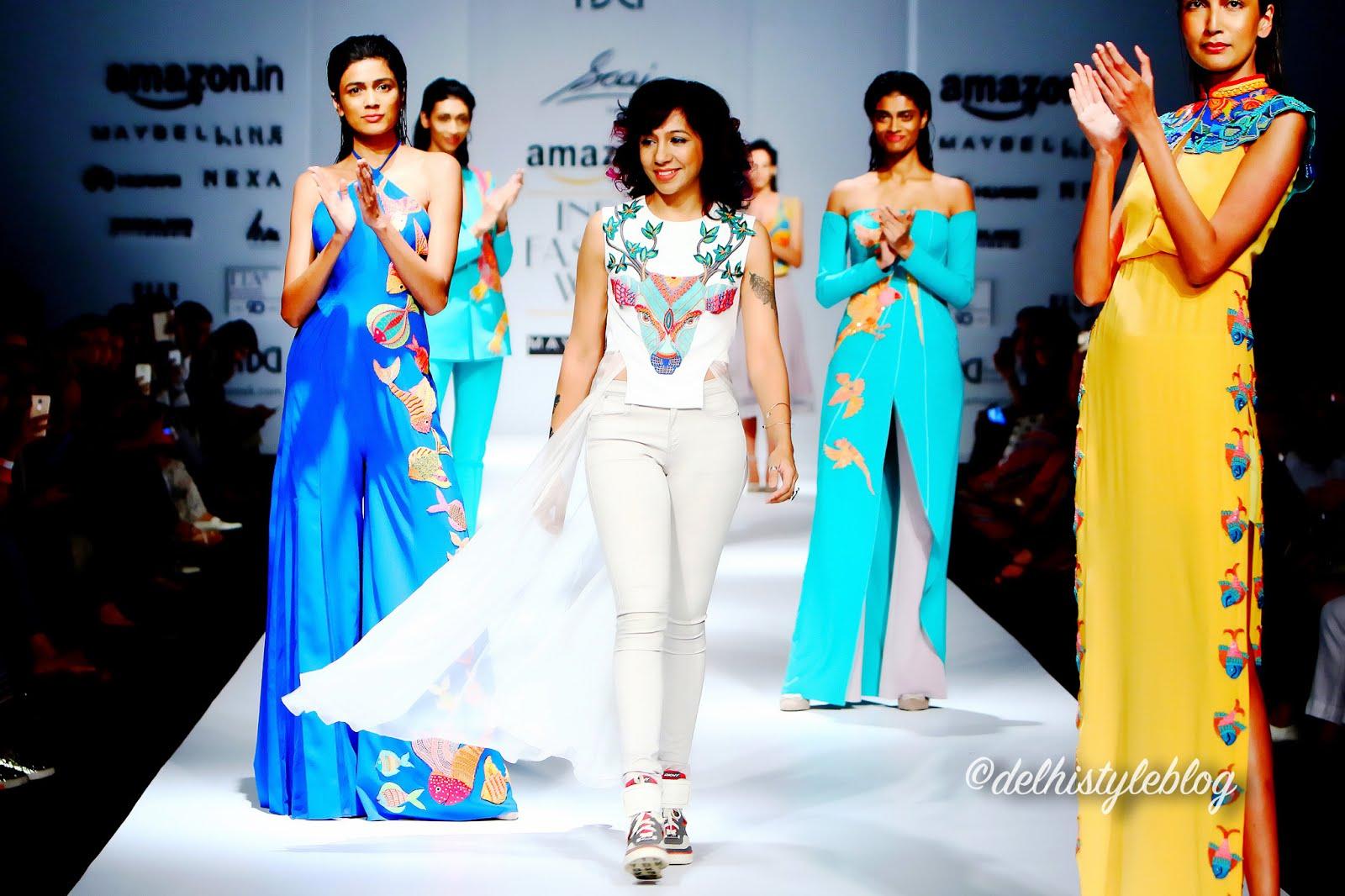 35fa3a371fa7 Saaj by Ankita Spring Summer 17