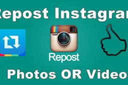 Repost On Instagram