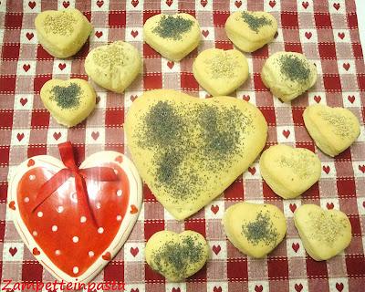 Cuori di pane alla ricotta - Ricetta San Valentino