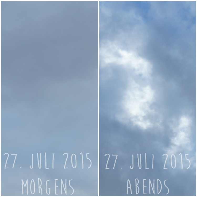 Blog & Fotografie by it's me! - Himmel am 27.07.2015