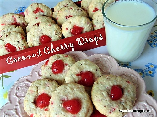 Coconut Cherry Drops