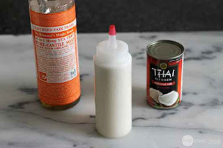 Make A Homemade Coconut Milk Shampoo