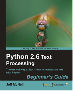 Ebook Python 2.6 Text Processing: Beginners Guide