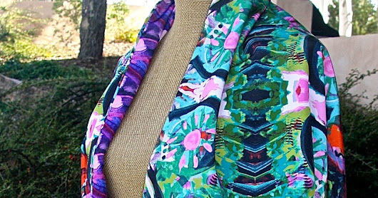 Melanie Birk Merida Reversible Wrap 50% off for One Week Only
