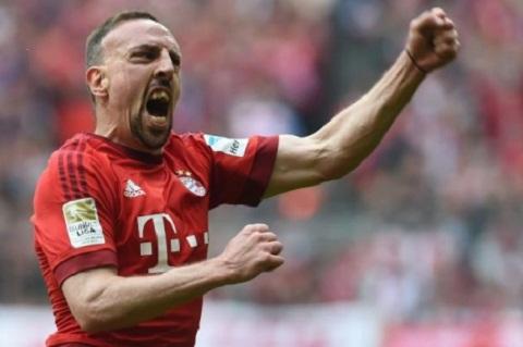Mùa giải năm nay, Franck Ribery có thể vào thi đấu sau.