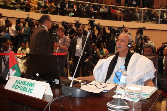 الرئيس إبراهيم غالي يتوصل بالدعوة للمشاركة في القمة التشاركية الخامسة بين الاتحاد الإفريقي - الاتحاد الأوروبي (نص الرسالة)