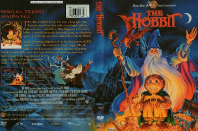 Carátula dvd de El Hobbit 1977
