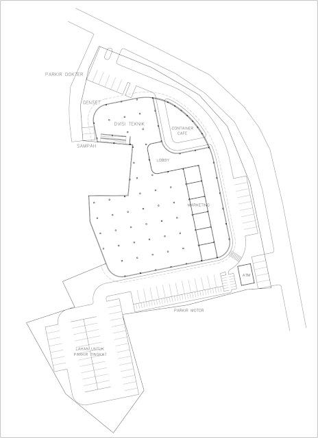 Site Plan Kantor