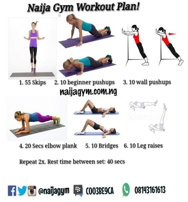 Monday - 10/12/18 workout/meal plan