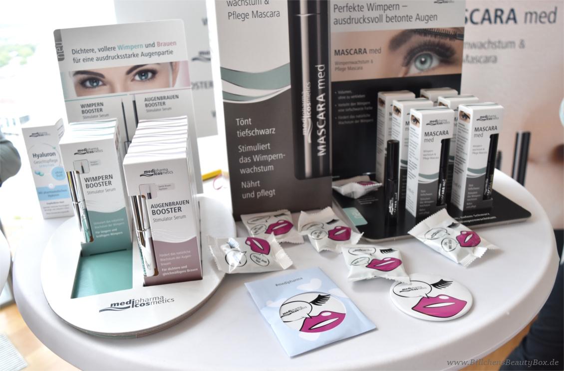 Beautypress Bloggerevent Juli 2017 - medipharma cosmetics Wimpern und Augenbrauenbooster