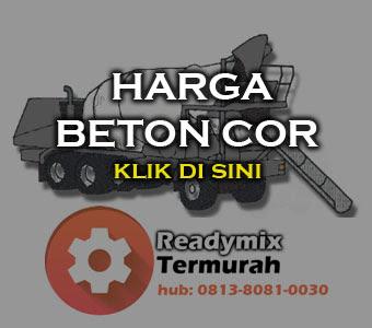 HARGA BETON COR TERBARU JAKARTA