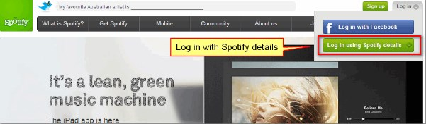 can u use spotify without facebook