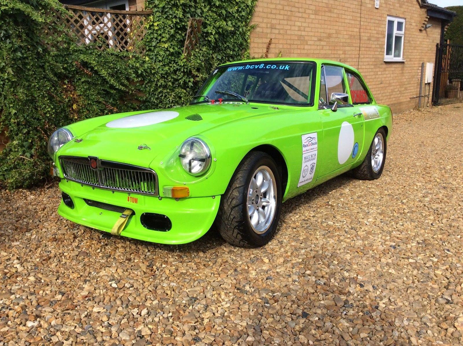1975 MG MGB GT V8 Race Car | Auto Restorationice
