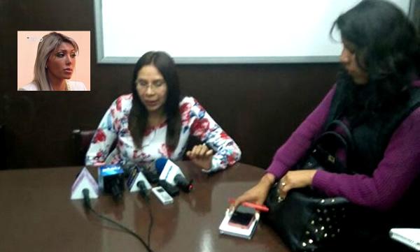 Legisladora de UD visita a Gabriela Zapata en la cárcel