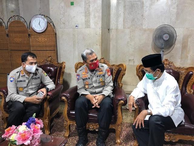 Badya Wijaya Jalin Silaturahmi dengan Imam Besar Masjid Istiqlal Jakarta
