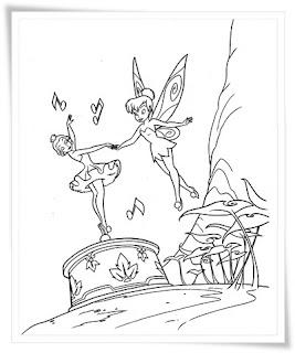 Ausmalbilder zum Ausdrucken: Tinkerbell Ausmalbilder Zum ...